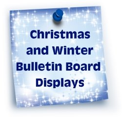 Christmas and Winter Bulletin Board Displays For Elementary School Classrooms
