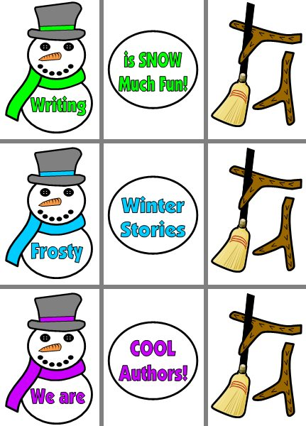 Winter Frosty the Snowman Creative Writing Classroom Bulletin Board Display Example and Ideas for Teachers