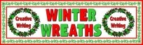 Winter Wreath Projects and Writing Templates