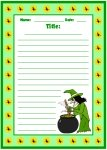 Halloween Witch Printable Worksheet