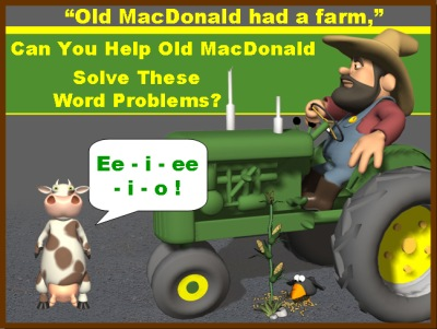 Math Word Problems Spring Powerpoint Lesson Plans