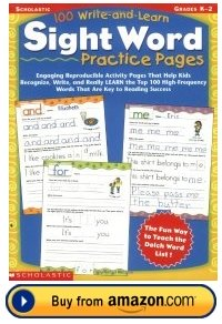 Write and Learn Sight Words Resource Book