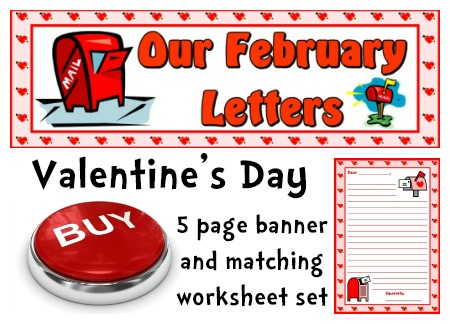 Writing Valentine's Day Letters Lesson Plans and Worksheets