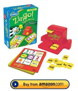 Zingo Sight Word Game For Kids