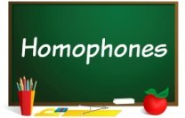 homophone powerpoint lessons