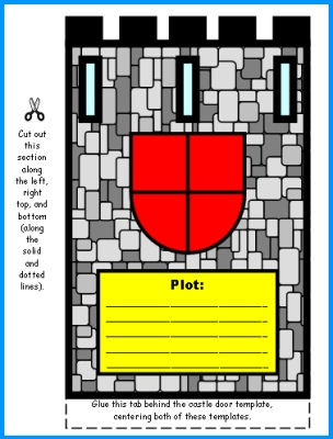 The Whipping Boy Castle Group Project Drawbridge Color Templates