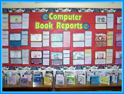 Computer Book Report Projects Bulletin Board Display Banner