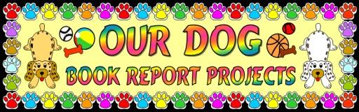 Dog Reading Book Reports Bulletin Board Display Banner