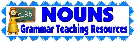 Nouns, Grammar, and Parts of Speech Lesson Plans