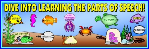 Lesson Plans and Resources for Teaching the 8 Parts of Speech
