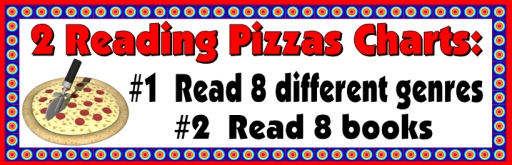 Reading Pizza Sticker and Incentive Charts Bulletin Board Examples