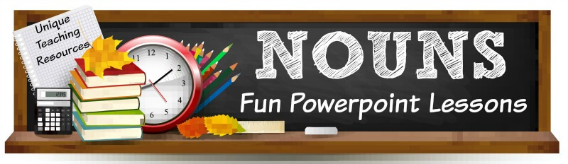 Fun powerpoint presentations for teachers to use to review nouns with their students.