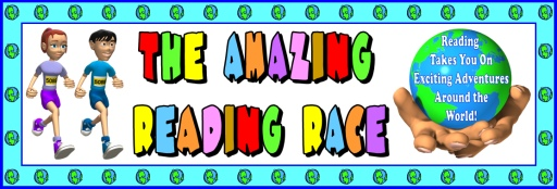The Amazing Reading Race Classroom Display Bulletin Board Banner