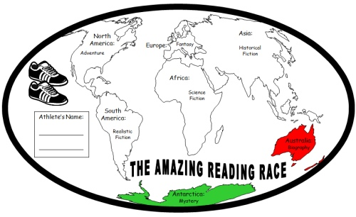 Fun Reading Program The Amazing Reading Race 7 continents