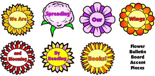 Spring Flowers Classroom Bulletin Board Display Examples and Ideas