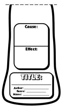 Cause and Effect Tree Book Report Project Templates and Worksheets Trunk Template