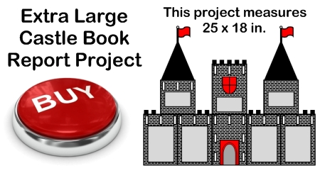 Castle Book Report Project - Great For Fairy Tales