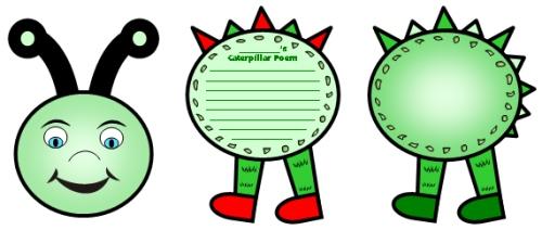 Caterpillar Templates To Print