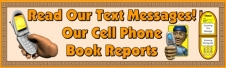 Cell Phone Book Report Projects Bulletin Board Display Banner