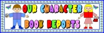 Main Character Body Book Report Projects Bulletin Board Display Banner