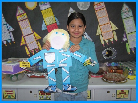 Violet Beauregarde Book Report Project For Charlie and the Chocolate Factory by Roald Dah