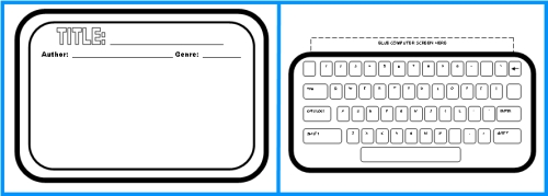 Computer Book Report Projects Templates and Worksheets