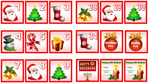 Holiday Numbers Images - Reverse Search