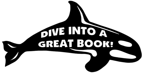 Dive Into Reading Books Classroom Bulletin Board Display Whale