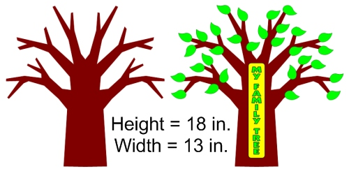 Family Tree Templates For Elementary School Students Projects