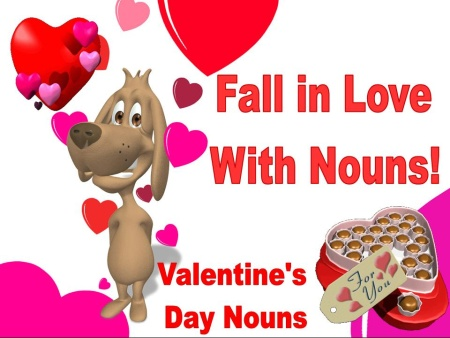 Valentine's Day Noun Powerpoint Lesson