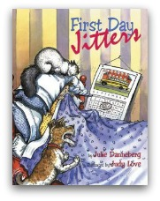 First Day Jitters Book Cover and Creative Book Report Projects