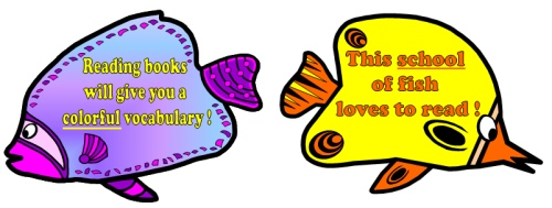 Reading Fish Ocean Bulletin Board Display 3
