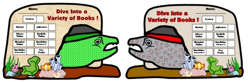 Moray Eel Sticker Charts and Templates