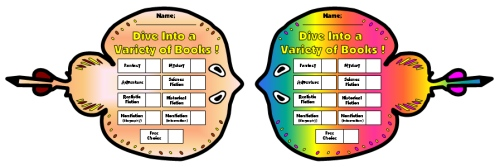 Dive Into Reading Sticker Charts Sting Ray