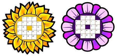 Spring Flower Sticker and Incentive Charts