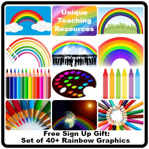 Free Rainbow Graphics and Clip Art