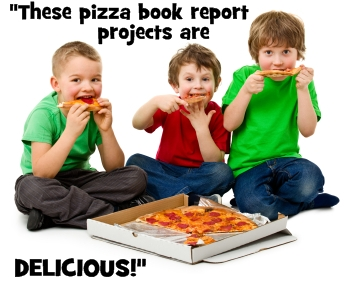 These Fun Pizza Book Report Projects Are Delicious!