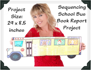 Fun and Creative Book Report Project Ideas - School Bus Templates