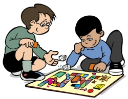 Children Playing Monopoly Game Board Book Reports