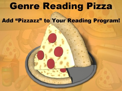 Introduction to Genre Pizza Reading Incentives Sticker Chart Program