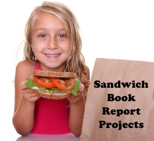 Sandwich Book Report Project Elementary School Students