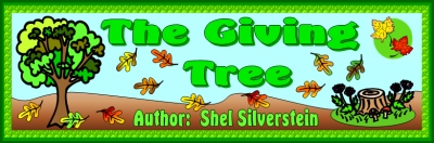 The Giving Tree by Shel Silversteing Teaching Resources and Lesson Plan Ideas