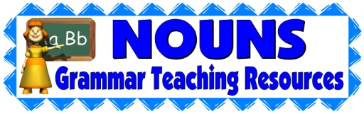 Nouns, Grammar, and Parts of Speech Lesson Plans