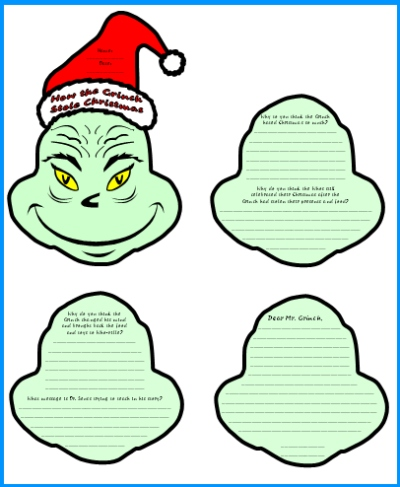 Teaching Resources How the Grinch Stole Christmas by Dr. Seuss Lesson Plans