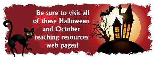 Halloween Lesson Plans For Teachers Banner