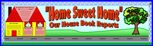 House Book Report Projects: templates, worksheets, grading rubric ...