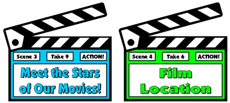 Movie Book Review Book Report Projects Bulletin Board Accent Pieces