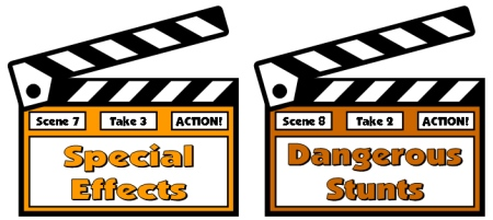 Movie Camera Book Report Projects Display Ideas