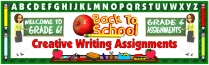 Creative Writing Bulletin Board Banner For Back To School
