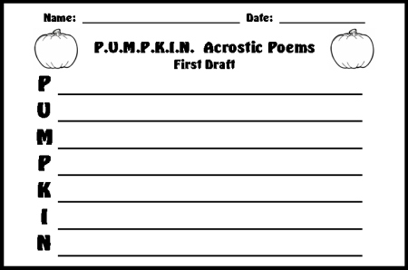 The Acrostic Poem banner